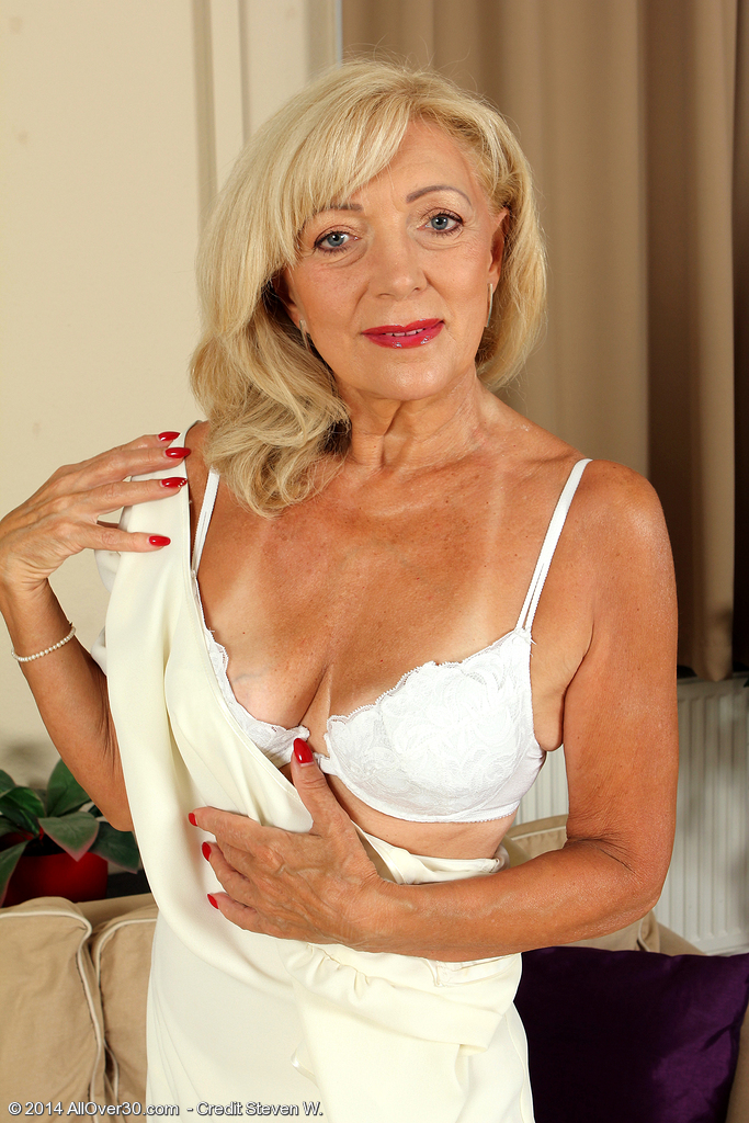 50 yr old stunning blonde playing 4